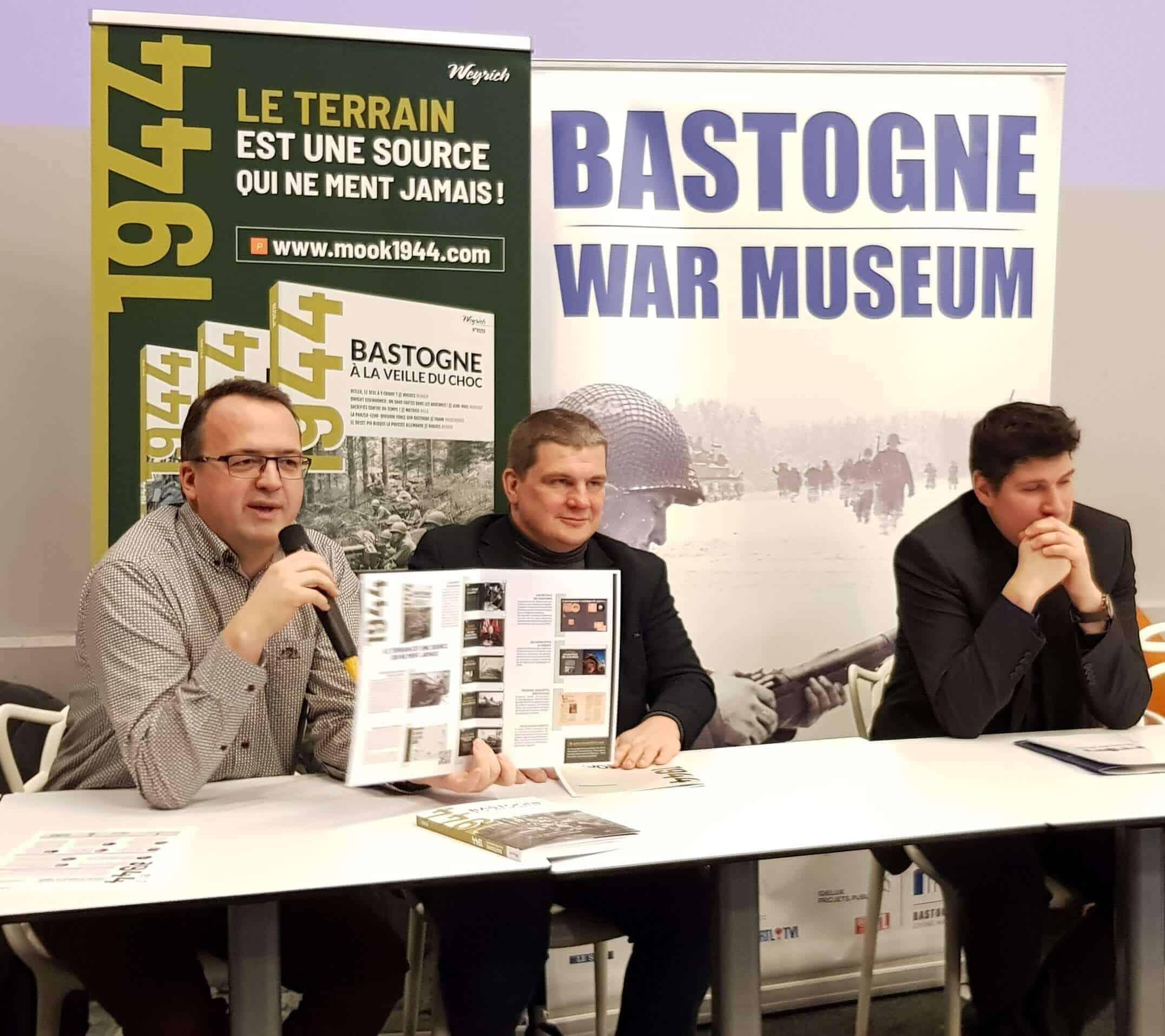 """""""Un livre-magazine pointu sur la bataille des Ardennes"""""""